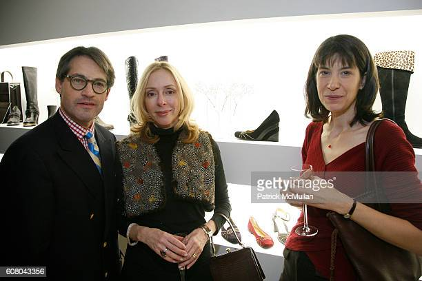 Eric Metaxas Susanne Metaxas and Caroline Sickinger attend Celebrate TARYN ROSE New Store Location in Honor of Artist Andy Cao's New Exhibit at The...