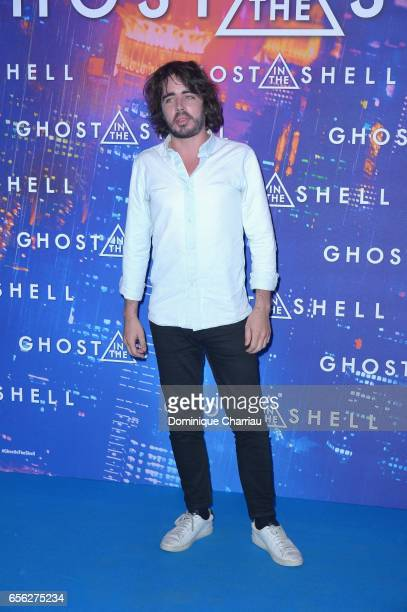 Eric Metzger attends the Paris Premiere of the Paramount Pictures release 'Ghost In The Shell' at Le Grand Rex on March 21 2017 in Paris France