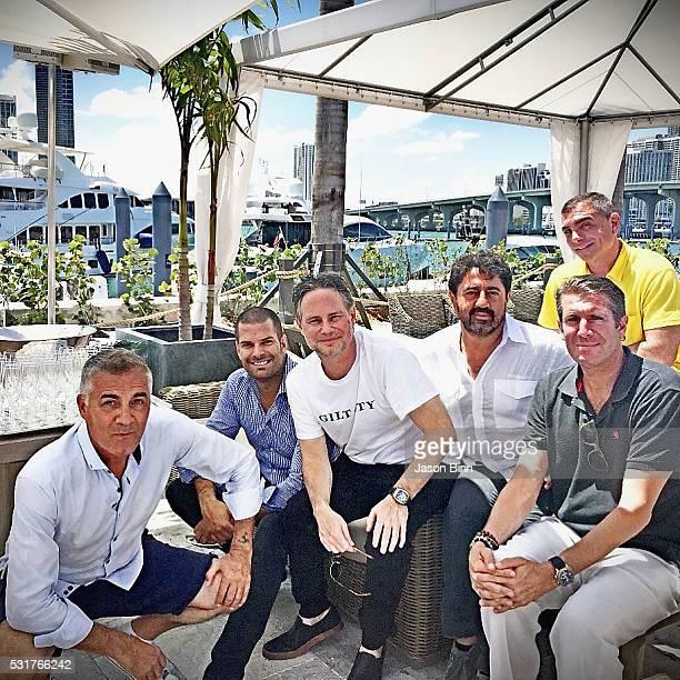Eric Milon CoFounder of InList Gideon Kimbrell Jason Binn CEO of Flagstone Property Group Mehmet Bayraktar CEO at Capponi Group Michael Capponi and...