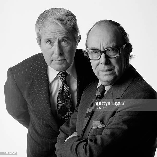 Eric Morecambe and Ernie Wise British comedy double act 27th April 1981