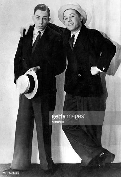 Eric Morecambe and Ernie Wise c1939 aged 14