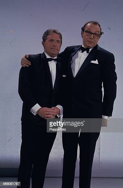 1968 Eric Morecambe and Ernie Wise of English comic double act Morecambe and Wise present the Morecambe and Wise show on television in 1968