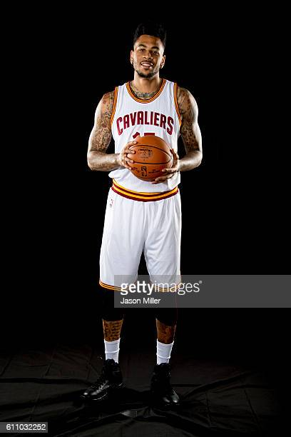 Eric Moreland of the Cleveland Cavaliers poses for a portrait during media day at Cleveland Clinic Courts on September 26 2016 in Cleveland Ohio NOTE...