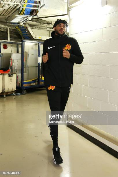 Eric Moreland of the Phoenix Suns is photographed before the game against the New York Knicks on December 17 2018 at Madison Square Garden in New...