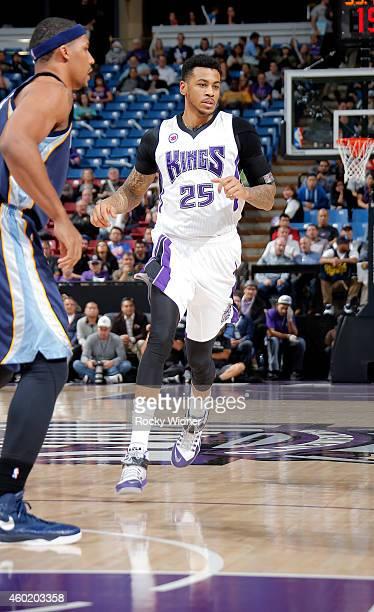 Eric Moreland of the Sacramento Kings walks on the court against the Memphis Grizzlies on November 30 2014 at Sleep Train Arena in Sacramento...
