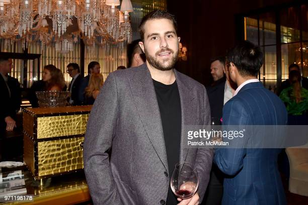 Eric Nordike attends Christopher R King Debuts New Luxury Brand CCCXXXIII at Baccarat Hotel on June 5 2018 in New York City