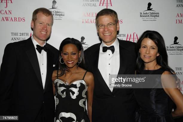 Eric Nordstrom. Robin Givens, Blake Nordstrom and Molly Nordstrom at the Hyatt in New York City, New York