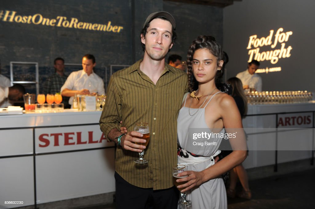 Eric Oglander and Lexie Smith joined Stella Artois and The New York Times Companys T Brand Studio to experience a culinary adventure that challenges convention with eating designer Marije Vogelzang in New York City on August 21, 2017.