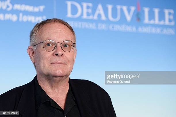 Eric Overmyer attends a photocall during the 41st Deauville American Film Festival on September 12, 2015 in Deauville, France.