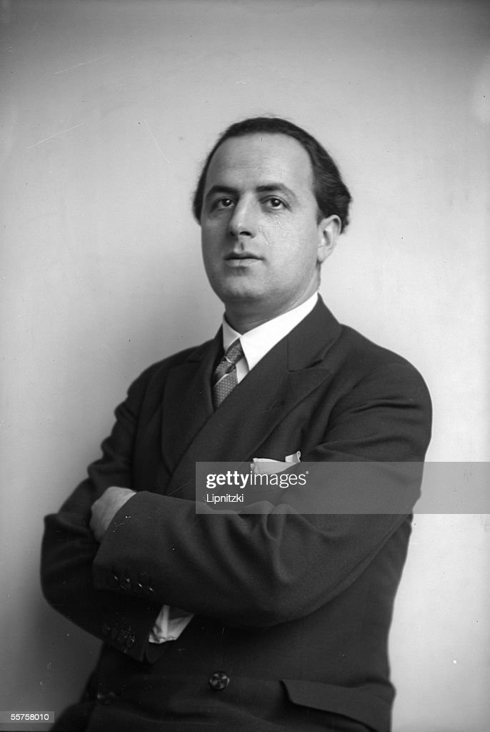 Eric Paul Stekel (born in 1898), conductor and Fre : News Photo