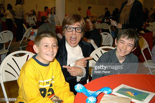Eric Per Sullivan Austin Powers Liam Aiken during Children's Day Artrageous Hosted by The Edwin Gould Foundation at The Metropolitan Pavillion in New...