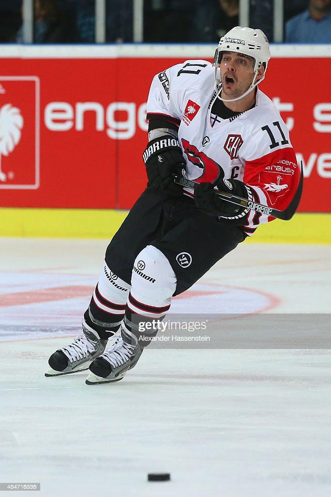Red Bull Salzburg v JYP Jyvaskyla - Champions Hockey League : News Photo