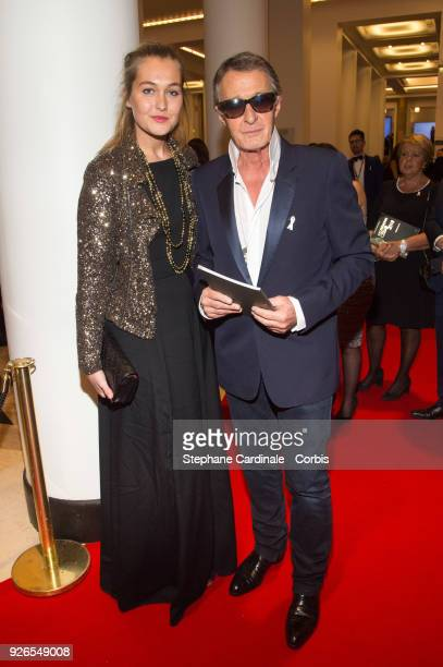 Eric Pfrunder and guest arrives at the Cesar Film Awards 2018 at Salle Pleyel on March 2 2018 in Paris France