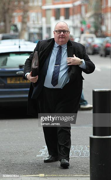 Eric Pickles MP sighting on February 7 2016 in London England