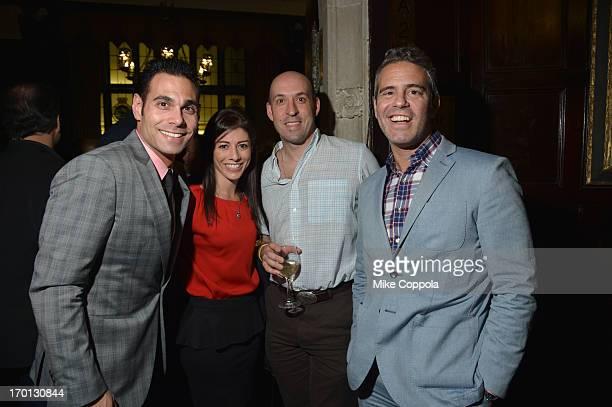 Eric Podwall of Podwall Management Nicole Mollen Craig Bruck and Andy Cohen attend Jason Binn and DuJour Magazine's Celebration for Matthew Morrison...