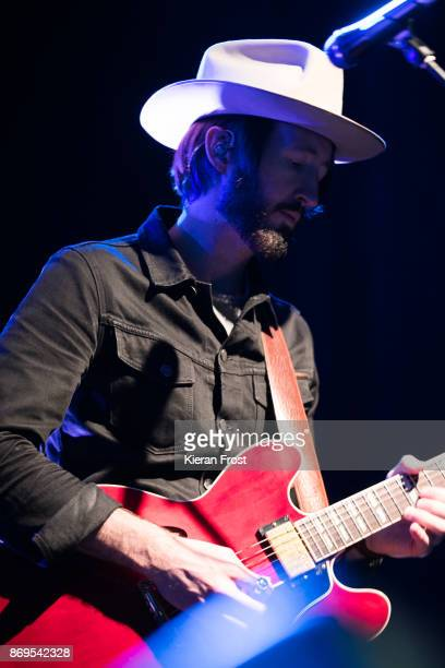 Eric Pulido of BNQT performs live at The Button Factory on November 2 2017 in Dublin Ireland