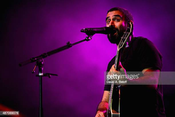 Eric Rachmany of Rebelution at the American Music Festival on September 5 2015 in Virginia Beach Virginia