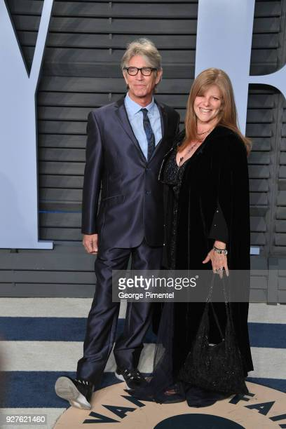 Eric Roberts and Eliza Roberts attend the 2018 Vanity Fair Oscar Party hosted by Radhika Jones at Wallis Annenberg Center for the Performing Arts on...