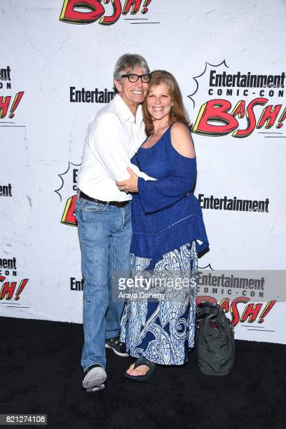 Eric Roberts and Eliza Roberts attend the Entertainment Weekly's Annual ComicCon Party 2017 at Float at Hard Rock Hotel San Diego on July 22 2017 in...