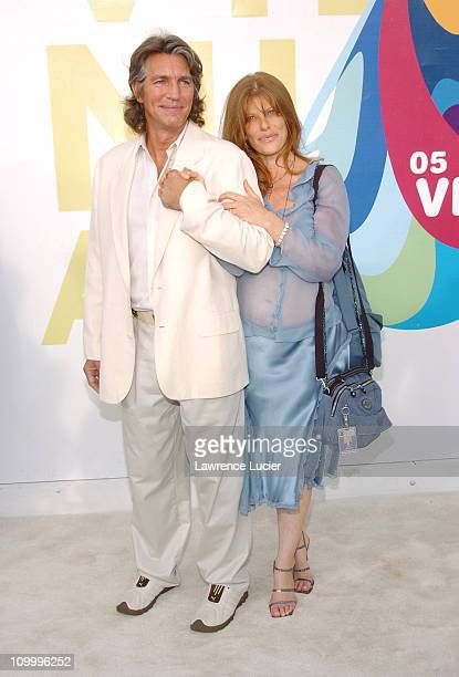 Eric Roberts and Eliza Roberts during 2005 MTV Video Music Awards Arrivals at American Airlines Arena in Miami Florida United States