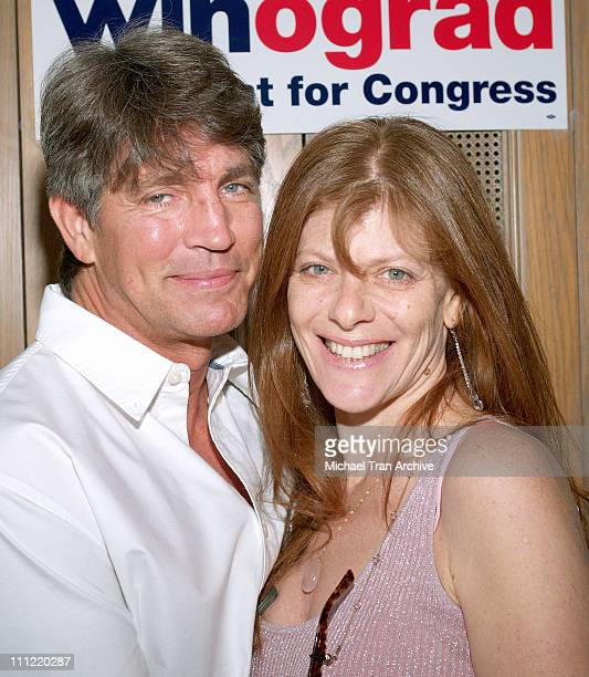 Eric Roberts and Eliza Roberts during Fundraiser Brunch for Marcy Winograd April 22 2006 at Private Residence in Los Angeles California United States