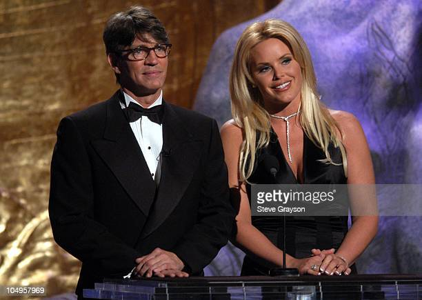 Eric Roberts and Gena Lee Nolin during The 17th Annual Genesis Awards Show at The Beverly Hilton Hotel in Beverly Hills California United States
