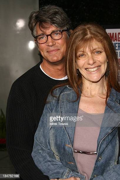 Eric Roberts and his wife Eliza during 'American Dreamz' Los Angeles Premiere Arrivals at Arclight Cinerama Dome in Hollywood CA United States