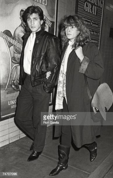 Eric Roberts and Julia Roberts at the Baronet Theater in New York City New York