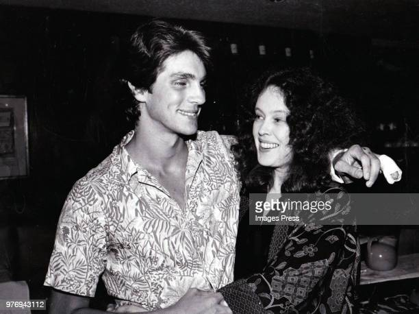 Eric Roberts and Sandy Dennis circa 1981 in New York