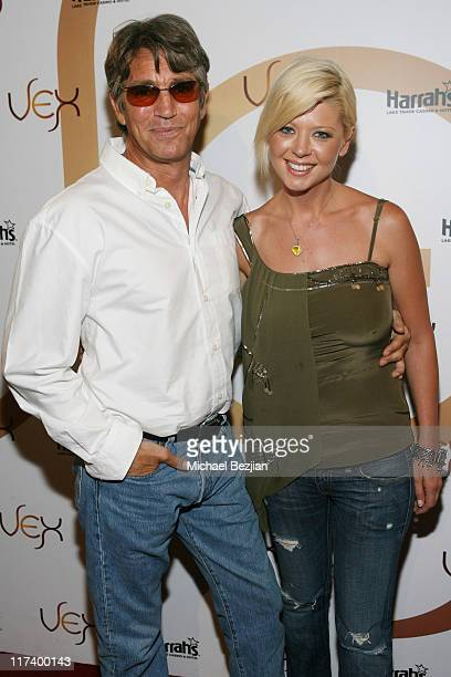 Eric Roberts and Tara Reid during Celebrity Night at VEX Harrah's Casino July 21 2006 at Harrah's Casino in Lake Tahoe Nevada United States