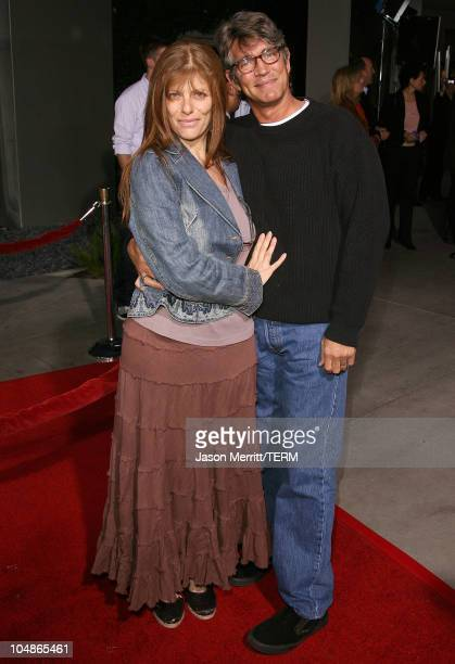Eric Roberts and wife during American Dreamz Los Angeles Premiere Arrivals at ArcLight Hollywood in Hollywood California United States