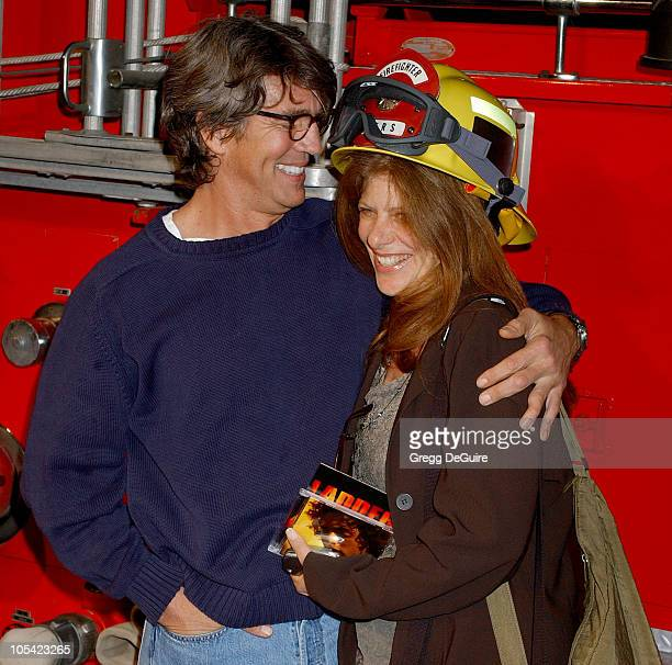 Eric Roberts and wife Eliza during Ladder 49 DVD Release Party at House of Blues in Los Angeles California United States