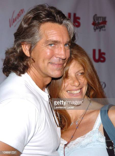 Eric Roberts and wife Eliza Roberts during 2005 MTV VMA US Weekly Party Hosted By Jessica Alba at Sagamore in Miami Florida United States