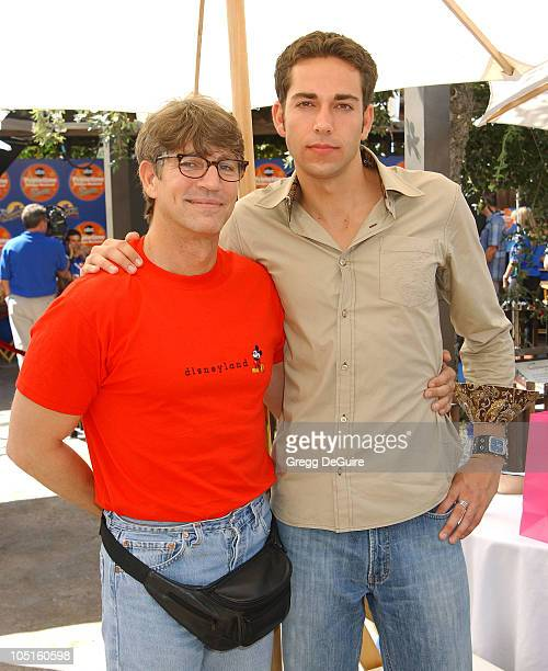 Eric Roberts and Zachary Levi of 'Less Than Perfect'