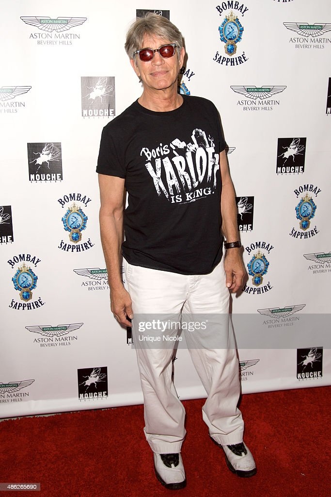 Eric Roberts arrives at the VIP opening reception for 'Dis-Ease' - an evening of fine art with Billy Morrison at Mouche Gallery on September 2, 2015 in Beverly Hills, California.