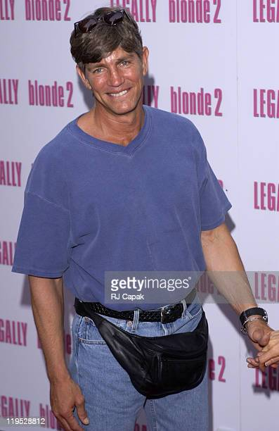 Eric Roberts during Legally Blonde 2 Red White Blonde Premiere New York City Outside Arrivals at Ziegfeld Theater in New York City New York United...