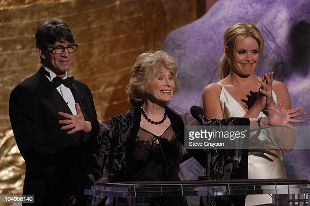 Eric Roberts Gretchen Wyler and Gena Lee Nolin during The 17th Annual Genesis Awards Show at The Beverly Hilton Hotel in Beverly Hills California...