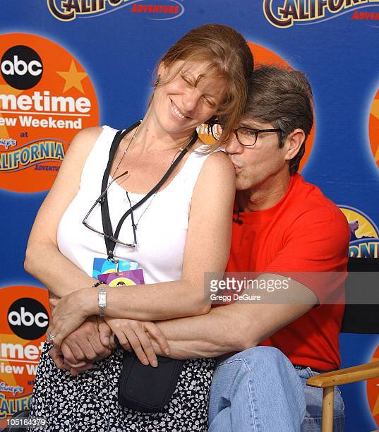 Eric Roberts wife during 2003 ABC Primetime Preview Weekend Day 2 at Disney's California Adventure in Anaheim California United States