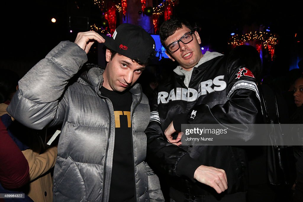 Eric Rosenthal and Jeff Rosenthal aka comedy duo ItsTheReal attend SOB's on December 4, 2014, in New York City.