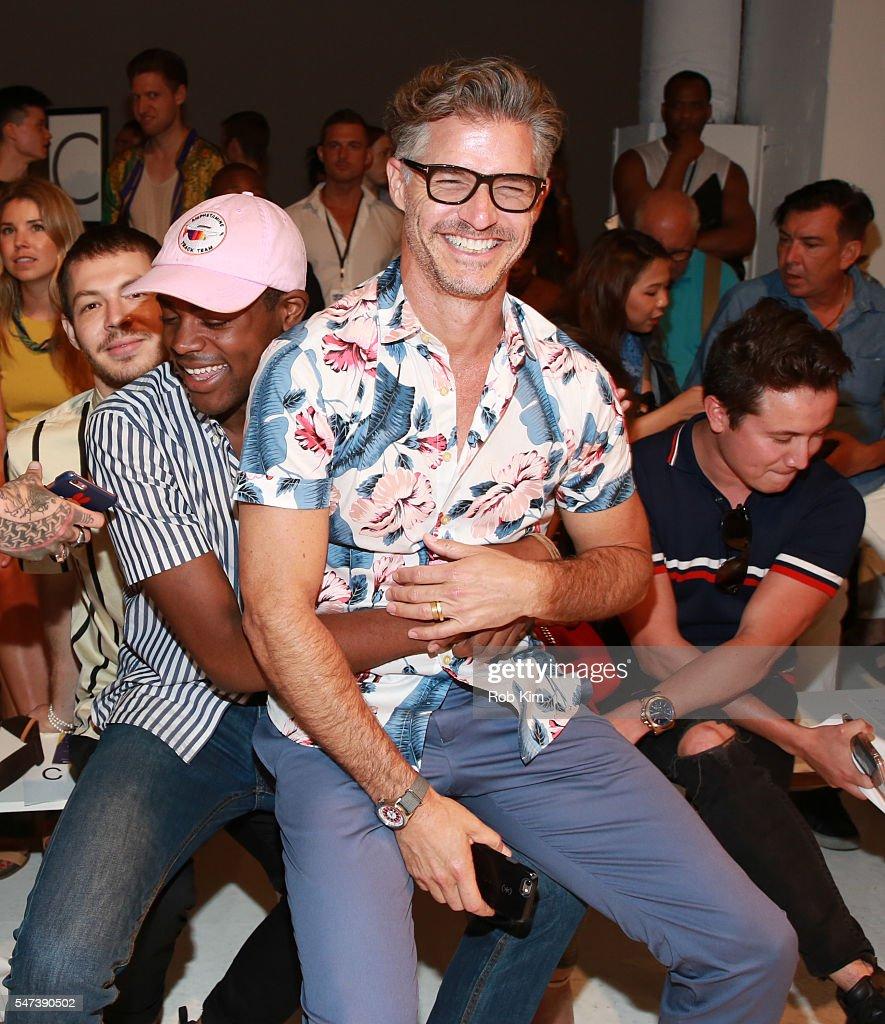 NY: Parke & Ronen Spring 2017 - New York Fashion Week Men's - Front Row