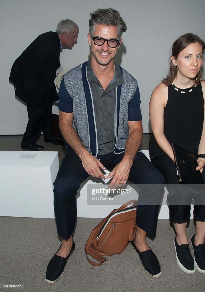NY: Deveaux - Front Row - New York Fashion Week: Men's S/S 2017
