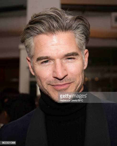 Eric Rutherford attends the TOPMAN LFWM Party during London Fashion Week Men's January 2018 at Mortimer House on January 7 2018 in London England