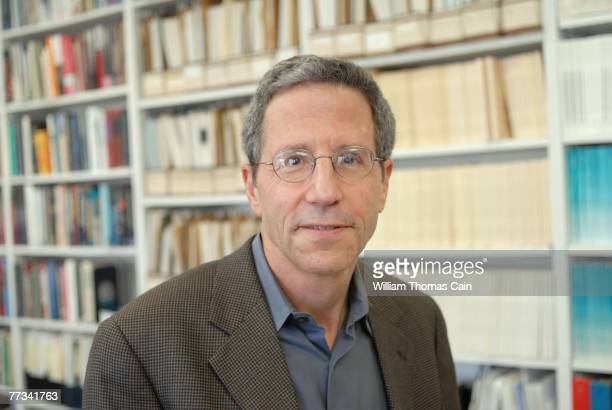 Eric S. Maskin, sits in his office after winning the 2007 Nobel Prize in Economic Sciences October 15, 2007 in Princeton, New Jersey. Dr. Maskin...