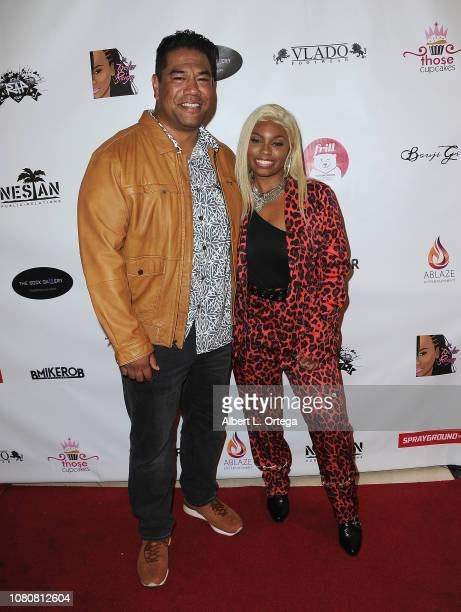 Eric Scanlan and Tyeler Reign attend Season 5 Premiere For Lifetime's The Rap Game Hosted By Tyeler Reign held at CTRL Collective on January 10 2019...