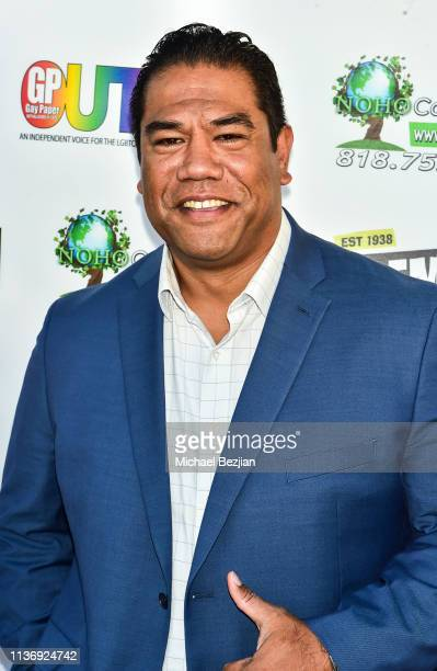 Eric Scanlan attends As Long As I'm Famous World Premiere on March 16 2019 in Beverly Hills California
