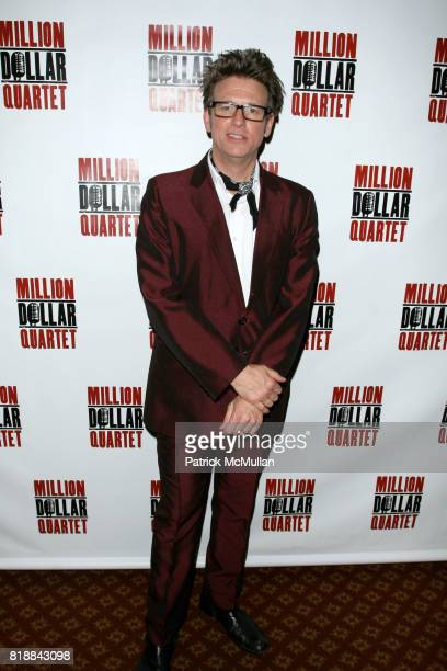 Eric Schaeffer attends Opening Night of 'MILLION DOLLAR QUARTET' at Nederlander Thearte on April 11 2010 in New York City