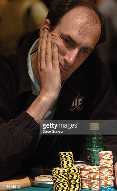 Eric Seidel competes in day two of the World Poker Tour's Doyle Brunson North American Poker Championship at the Bellagio Hotel in Las Vegas Nevada...