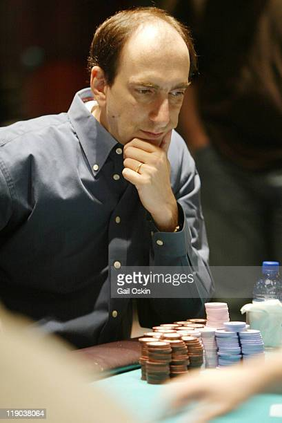 Eric Seidel plays poker at the Foxwoods Resort Casino 2004 World Poker Finals in Ledyard Connecticut Monday November 15 2004 The World Poker Tour can...