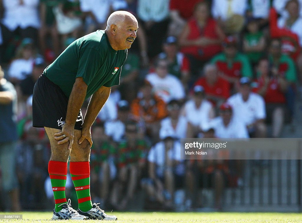 NRL Trial - Rabbitohs v Wests Tigers : News Photo