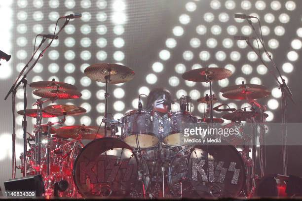 Eric Singer of KISS performs on stage during the Domination Festival 2019 at Foro Sol on May 3 2019 in Mexico City Mexico